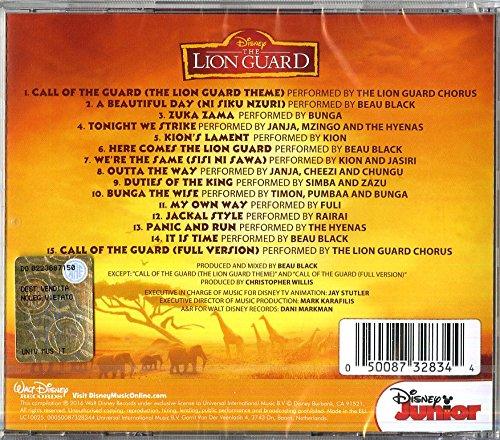 The Lion Guard music cd cover - elenco canzoni - track list cartoni animati home video - canzoni the lion guard - musica the lion guard - the lion guard soundtrack - colonna sonora