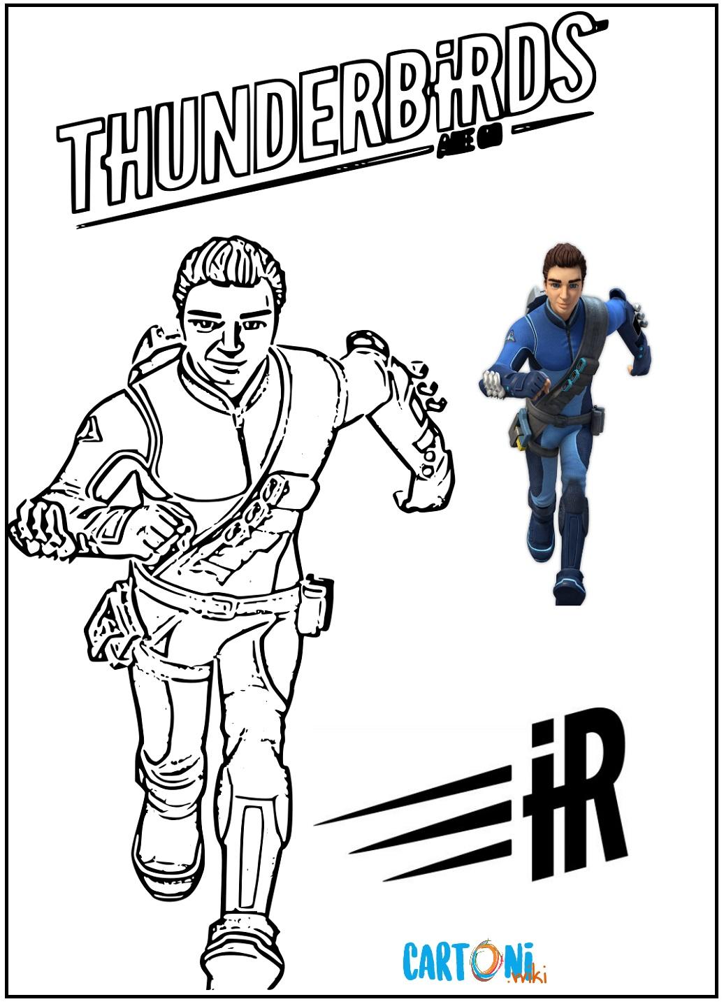 Thunderbirds are go Disegni da colorare - Disegni da colorare