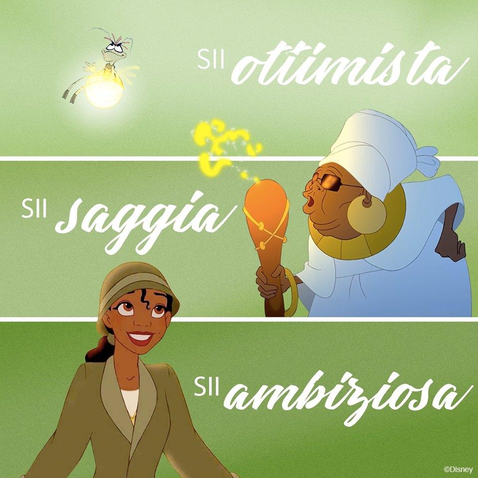 Sii ottimista, sii ambiziosa, sii saggia - Cartoni animati