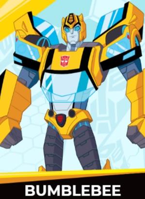 Bumblebee - Transformers cybergverse personaggi robot cartonio animati k2