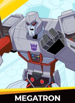 Megatron - Transformers cybergverse personaggi robot cartonio animati k2