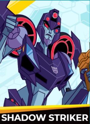Shadow Striker - Transformers cybergverse personaggi robot cartonio animati k2