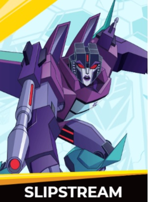Slipstream - Transformers cybergverse personaggi robot cartonio animati k2