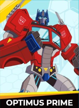 Optimus Prime - Transformers cybergverse personaggi robot cartonio animati k2