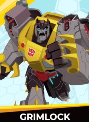 Grimlock - Transformers cybergverse personaggi robot cartonio animati k2