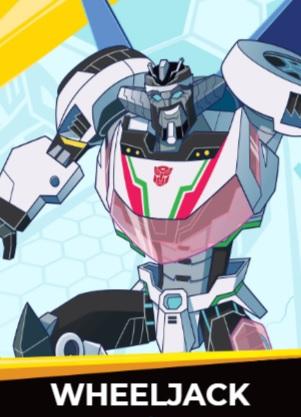 Wheeljack - Transformers cybergverse personaggi robot cartonio animati k2