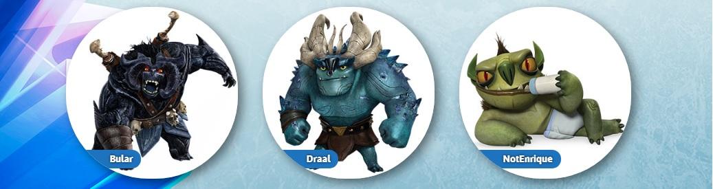 Trollhumters personaggi Draal NotEnrique Bular cartone animato Netflix Dreamworks