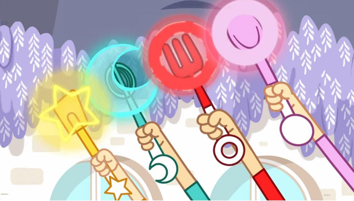 Trulli Tales bacchette magiche disney junior Rai Yoyo cartoni animati bambini in età prescolare