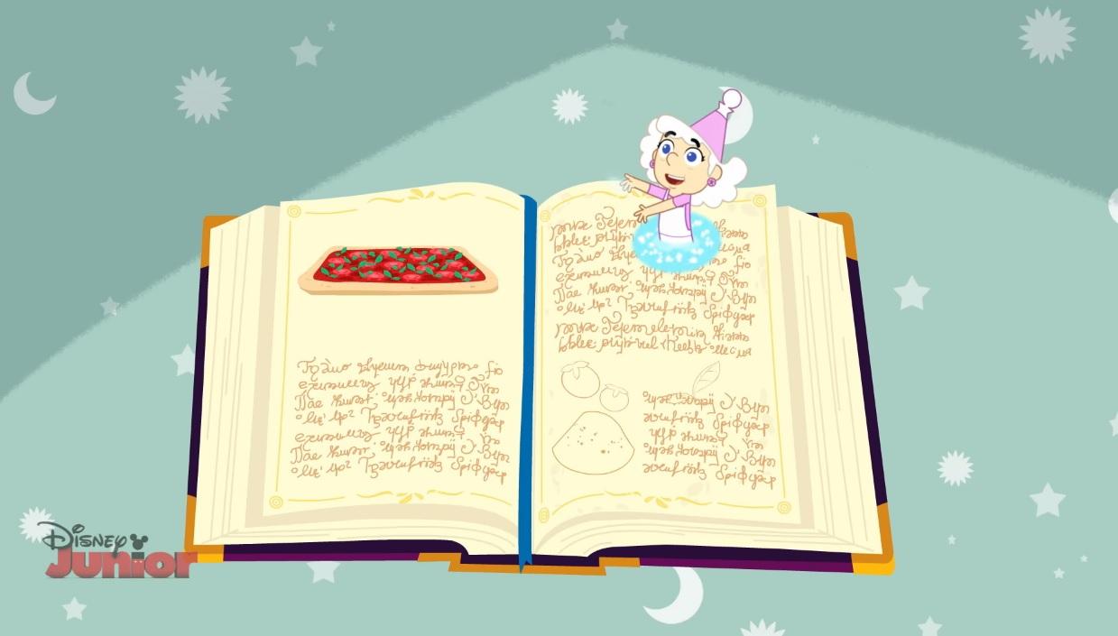 Trulli Tales Libro nonna Trulla  personaggio  disney junior Rai Yoyo cartoni animati