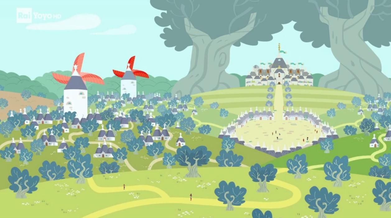 Trulli Tales Trullilandia  luoghi  disney junior Rai Yoyo cartoni animati