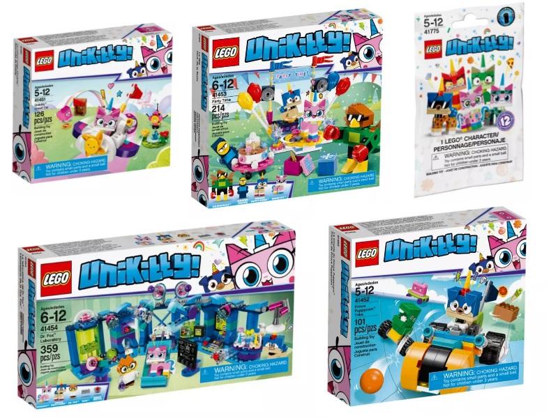 Unikitty set lego basati sui personaggi del cartone animato - Giocattoli