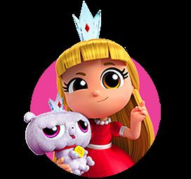 Grizelda e Frookie - Vera e il regno dell'arcobaleno cartoni animati personaggi