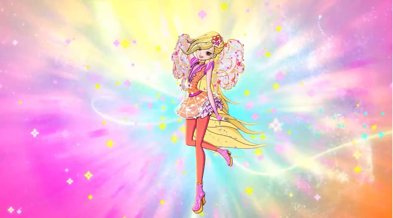 Winx club serie 8 trasformazione cosmix cartoni animati