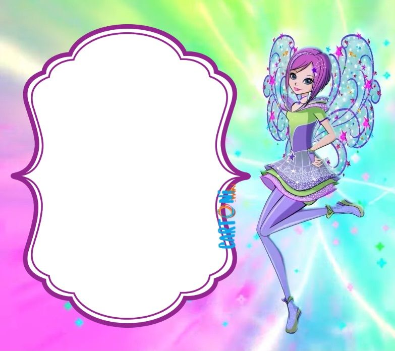 Tecna Winx 8 invito festa di compleanno - inviti compleanno online