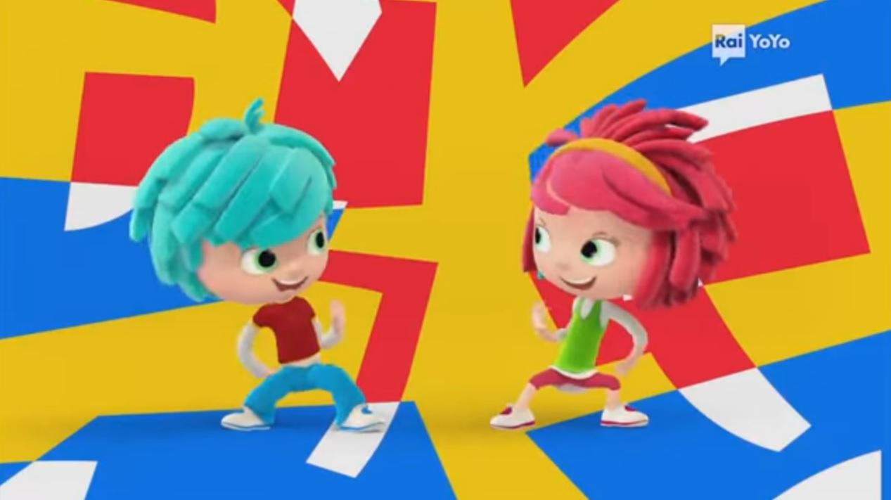 Yo Yo canzoncina sigla cartone animato gemellini cartoni Rai Yoyo