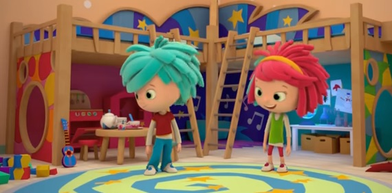 yo yo cartone animato Rai Yoyo gemellini personaggi