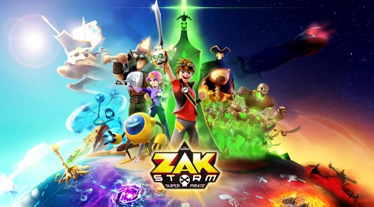 Zak Storm - Cartoni animati