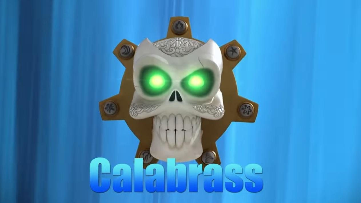 Zak Storm personaggio Calabrass personaggi cartone animato netflis Dea Kids