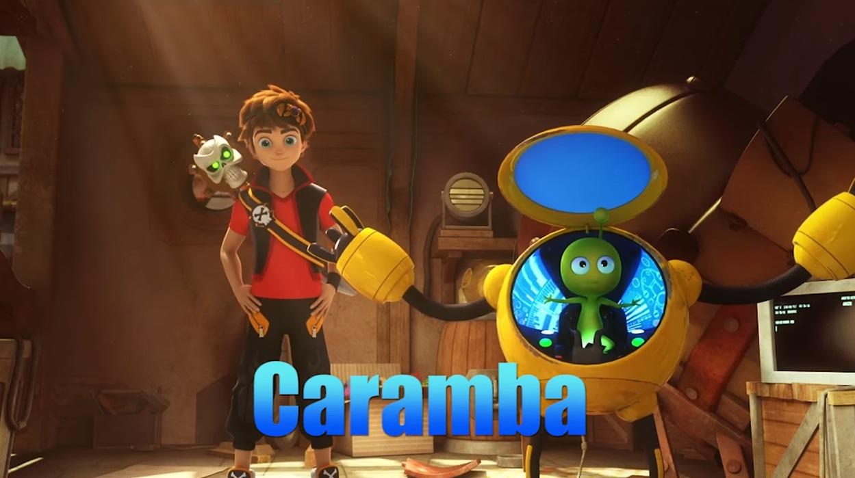 Zak Storm personaggio Caramba personaggi cartone animato netflix Dea Kids