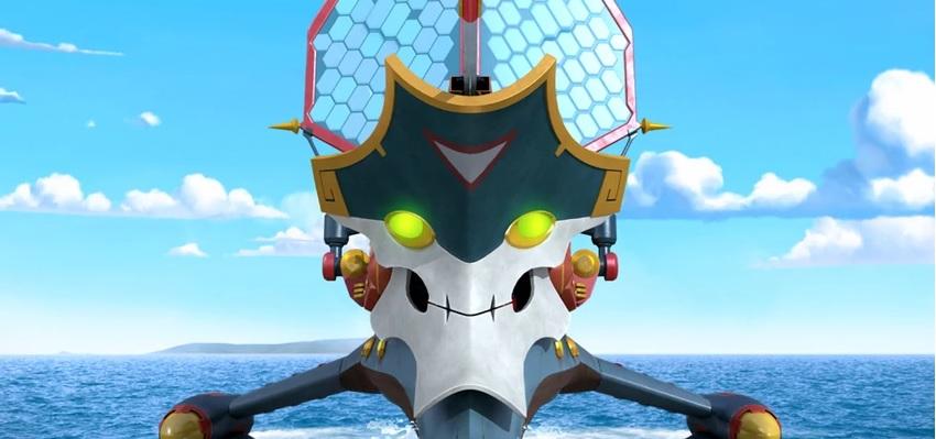 Zak Storm personaggio nave Chaos personaggi cartone animato netflix Dea Kids