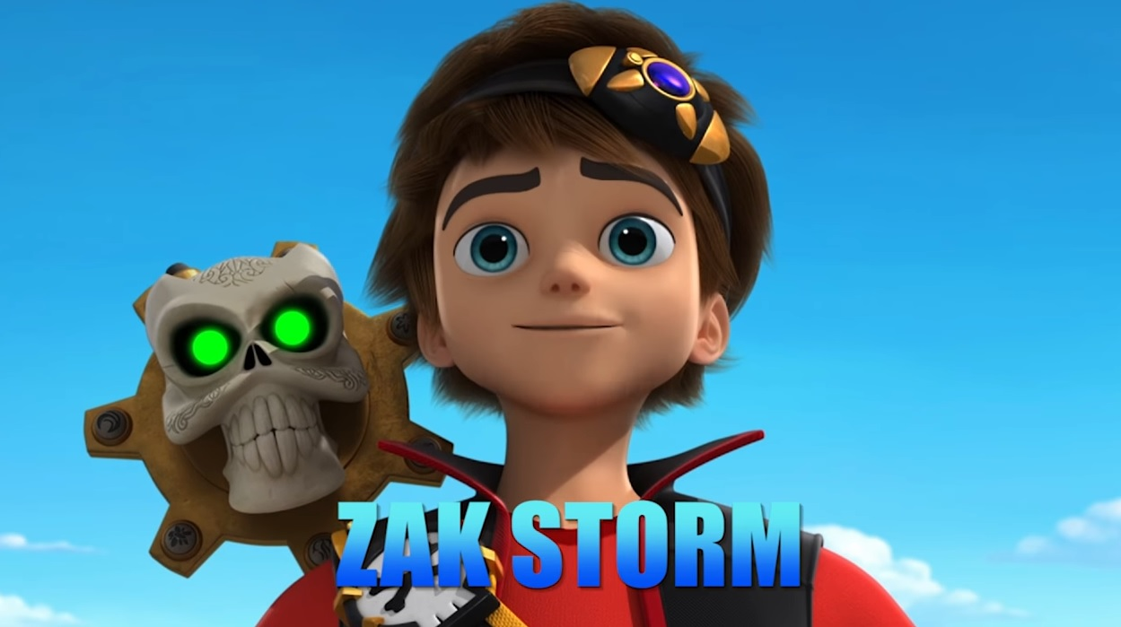 Zak Storm personaggi cartone animato netflix Dea Kids protagonista