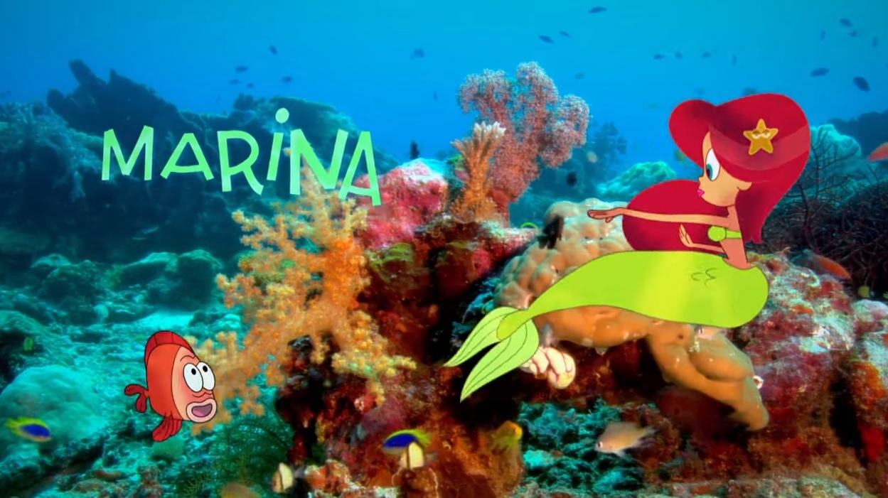 Zig & Sharko personaggio la sirena marina cartone animato