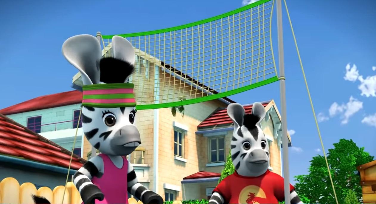 Zou cartone animato Disney Junior - cartoni prescolari - personaggi zou zebra - sigla