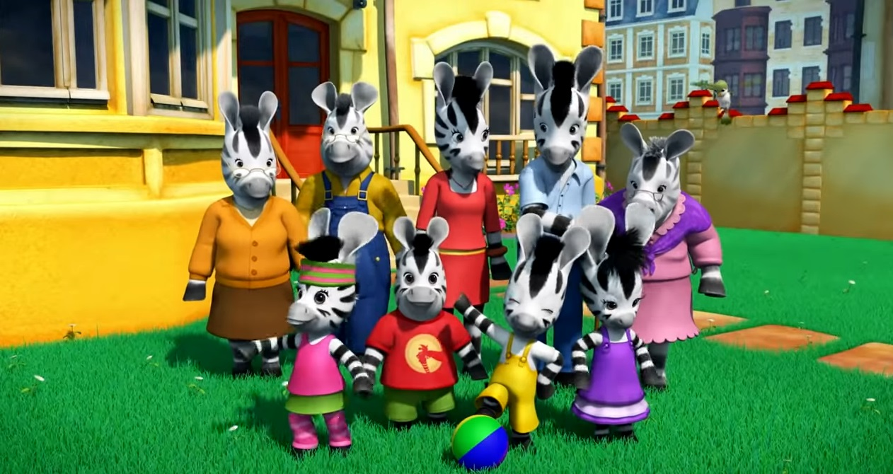 Zou cartone animato Disney Junior - cartoni prescolari - personaggi zou zebra