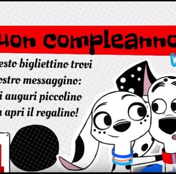 Buon compleanno con 101 dalmatian street - Cartoni animati