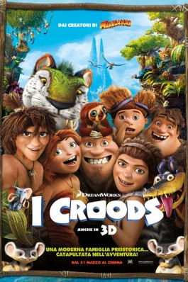 I Croods Tutti i posters del film