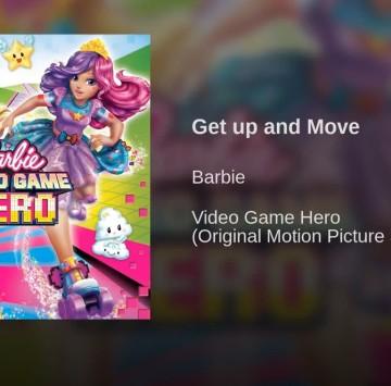 Get up and move Barbie nel mondo dei videogames - Cartoni animati
