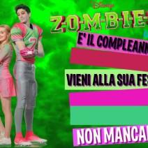 Disney Zombies inviti - Inviti feste compleanno