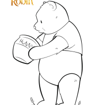 Christopher Robin Coloring pages - Disegni da colorare