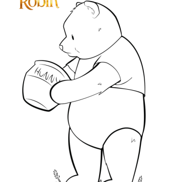 Christopher Robin Coloring pages - Cartoni animati