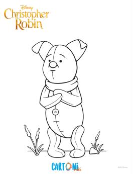 Disegni Da Colorare Ritorno Al Bosco Dei 100 Acri Cartoni Animati