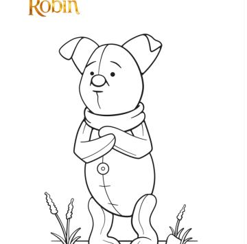 Disegni da colorare Ritorno al bosco dei 100 Acri - Cartoni animati