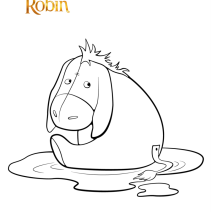 Disegno da colorare Winnie The Pooh  - Stampa e colora