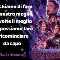 Avengers Endgame Frasi - Il meglio che possiamo fare - Frasi film