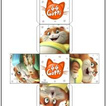 44 gatti Cubo di Polpetta - Attività per bambini