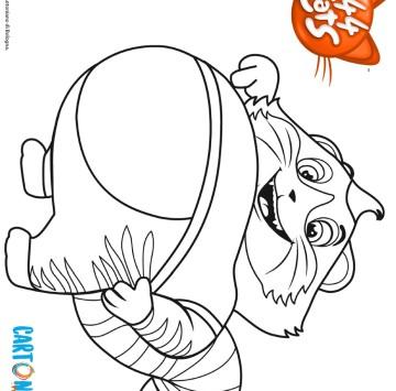 44 Gatti colora Polpetta - Cartoni animati