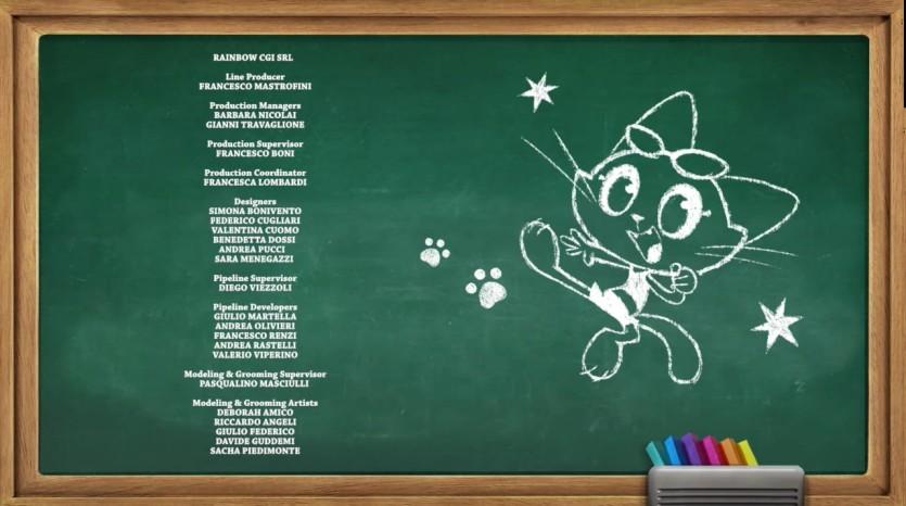 44 gatti sigla finale - Cartoni animati