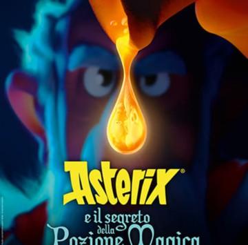 Asterix e il segreto della pozione magica poster italiano - Cartoni animati