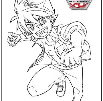 Disegno Bakugan Battle Planet da colorare - Cartoni animati