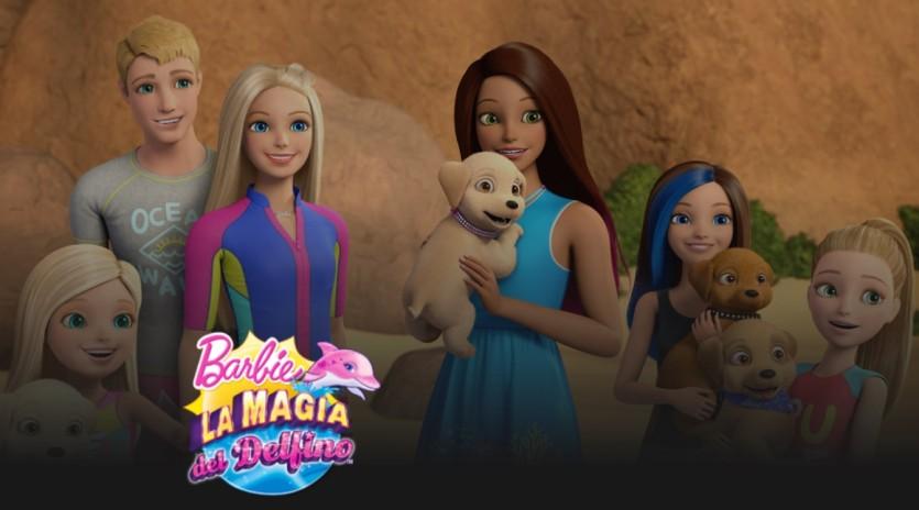 Barbie La magia del delfino - Cartoni animati