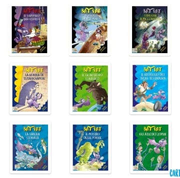 Bat Pat: tutti i libri - Cartoni animati