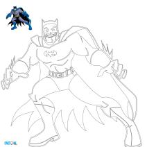 Colora Batman - Disegni da colorare