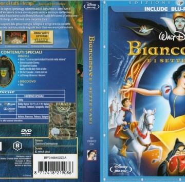 Biancaneve e i 7 nani DVD Cover - Cartoni animati