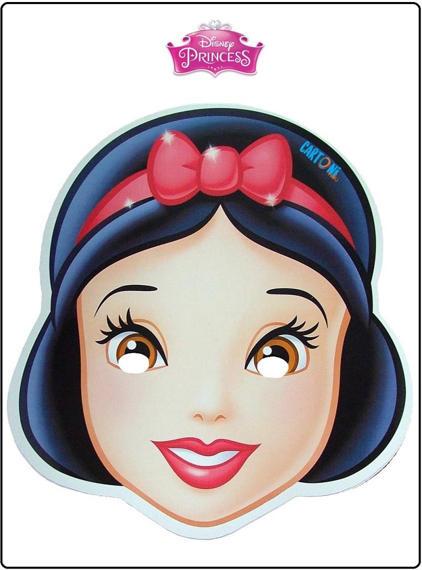 Maschera Biancaneve Da Stampare Cartoni Animati