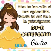 Buon compleanno Giulia - Buon compleanno