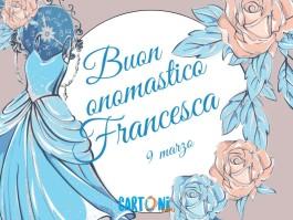 Auguri buon onomastico Francesca